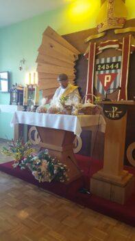 Święcenie potraw w kaplicy
