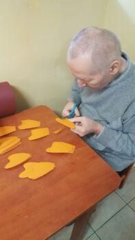 Pacjenci pracujący w ramach terapii